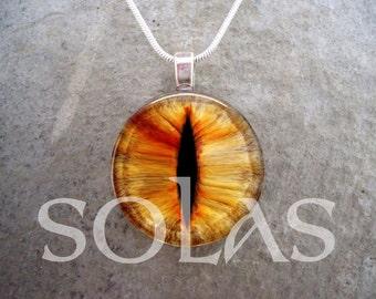 Dragon Eye Jewelry - Glass Pendant Necklace - Free Shipping - Style EYE27