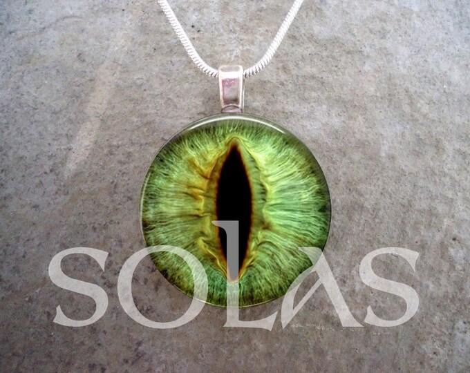 Dragon Eye Jewelry - Glass Pendant Necklace - Dragon Eye 23