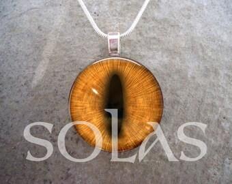Dragon Eye Jewelry - Glass Pendant Necklace - Dragon Eye 38 - Free Shipping - sku EYE38