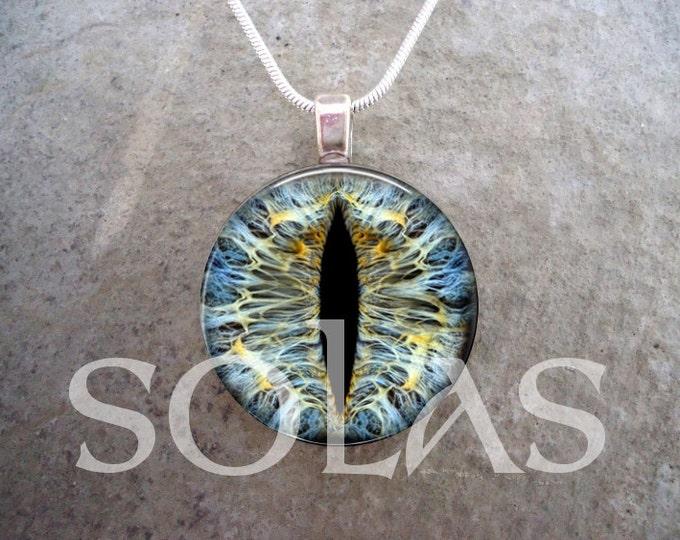 Dragon Eye Jewelry - Glass Pendant Necklace - Dragon Eye 13