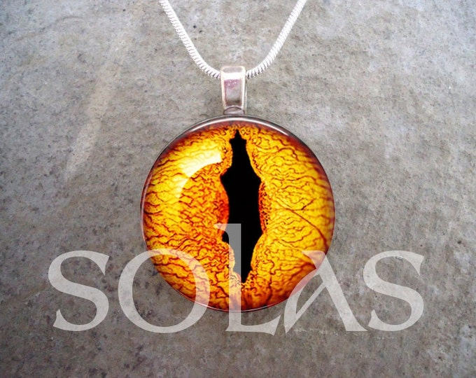 Dragon Eye Jewelry - Glass Pendant Necklace - Dragon Eye 43