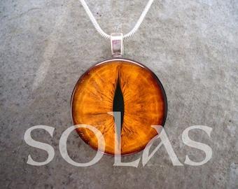 Dragon Eye Jewelry - Glass Pendant Necklace - Free Shipping - Style EYE33