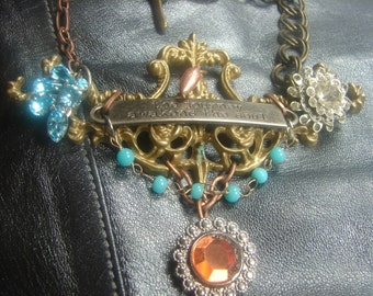Tim Holtz The Journey Awakens the Soul Necklace 1010.