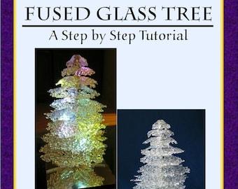 Fused Glass Tree, PDF E-Pattern, Tutorial