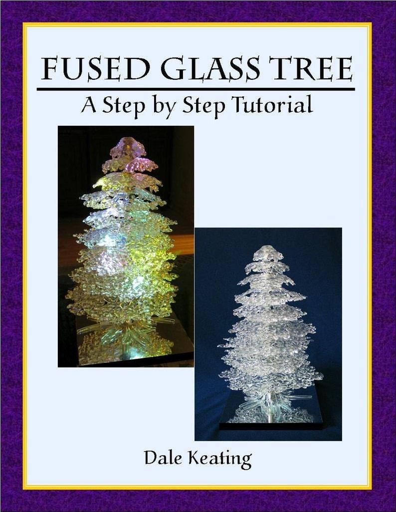 Fused Glass Tree PDF E-Pattern Tutorial image 0