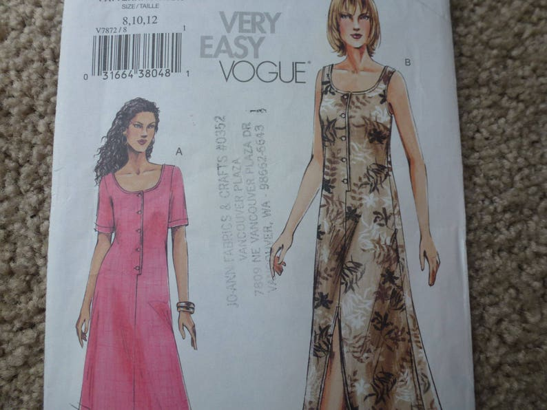 *Easy McCalls pattern 8879 Size B // 12,14,16,18