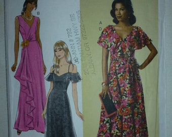 Butterick Misses' Dress Pattern 6052  Sizes 14-16-18-20-22