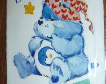 VINTAGE Butterick Bedtime Bear Pattern 6226 Care Bear Characters Pattern