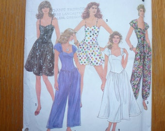 Vintage Simplicity Misses' Dress Pattern 7838  Size 18-22  Uncut
