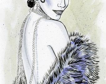 Burlesque Girl - 1930s