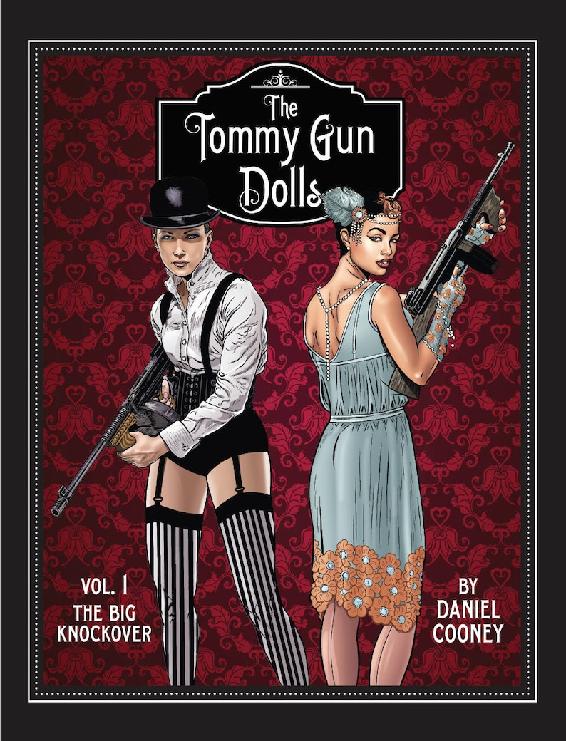 The Tommy Gun Dolls Vol. 1 Graphic Novel image 0