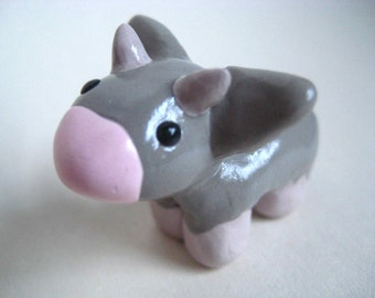 Cow Figurine - Ready to Ship