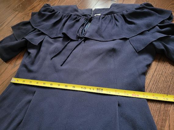 Pauline Trigère 80s dress, size 12 - image 8