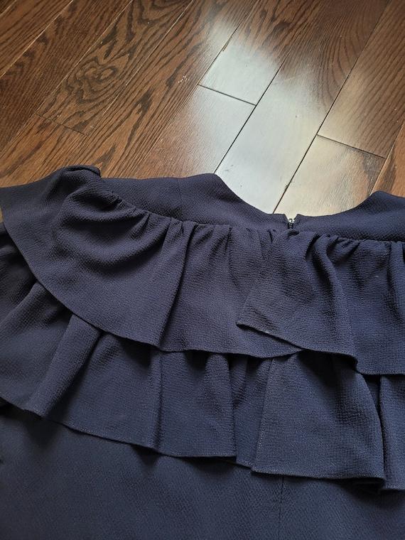Pauline Trigère 80s dress, size 12 - image 10