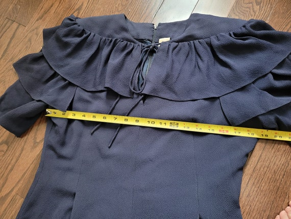 Pauline Trigère 80s dress, size 12 - image 2