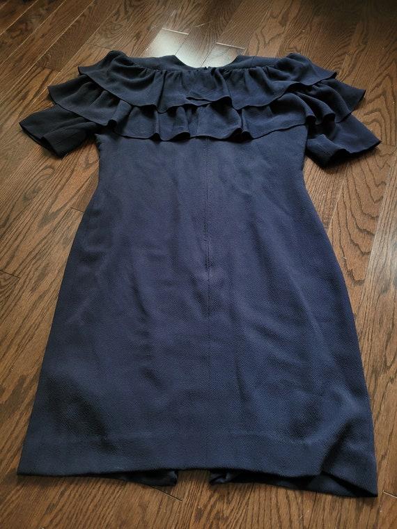 Pauline Trigère 80s dress, size 12 - image 7