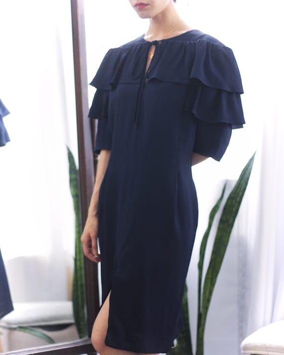 Pauline Trigère 80s dress, size 12 - image 1
