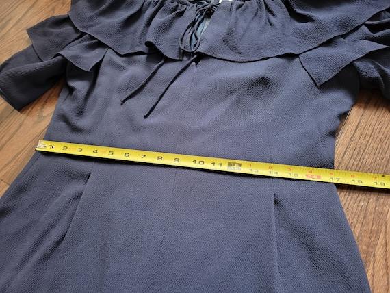 Pauline Trigère 80s dress, size 12 - image 3