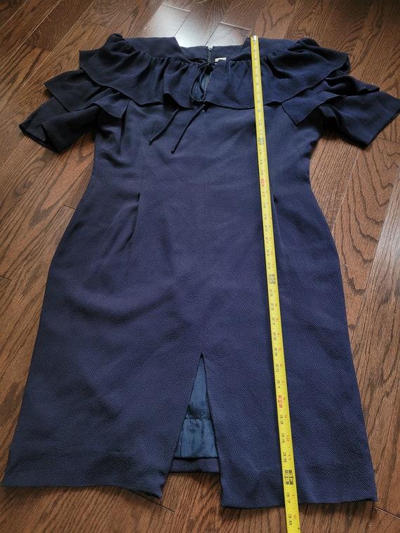 Pauline Trigère 80s dress, size 12 - image 6