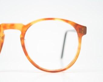 f055ade922c Vintage Glasses Frames Trudel 22 Tortoise Retro Glasses P3 shaped 1980 s  vintage eyewear NOS Deadstock