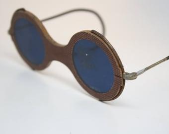 e4bebf6d002 Vintage Eyeglasses Cobalt Blue Vintage Safety Glasses safety goggles