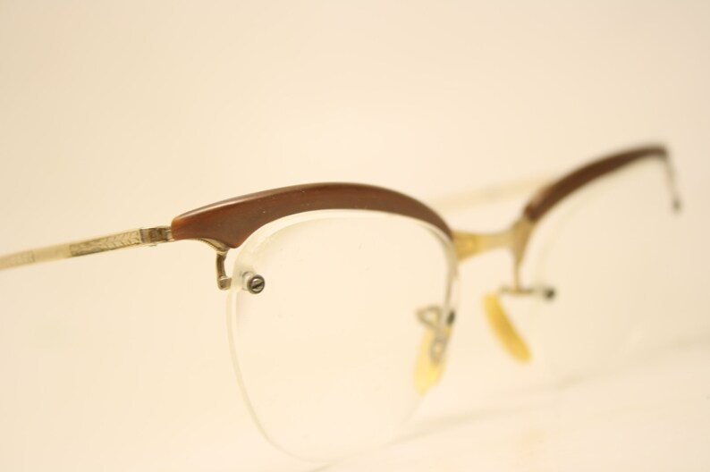 1247ac94b75 Shuron Vintage Cat Eye Glasses Vintage 1 10 12k Gold filled