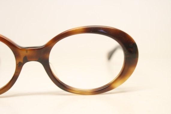 1568d0993e Vintage Eyeglass Frames Tortoise Retro Eyeglasses 1970 s