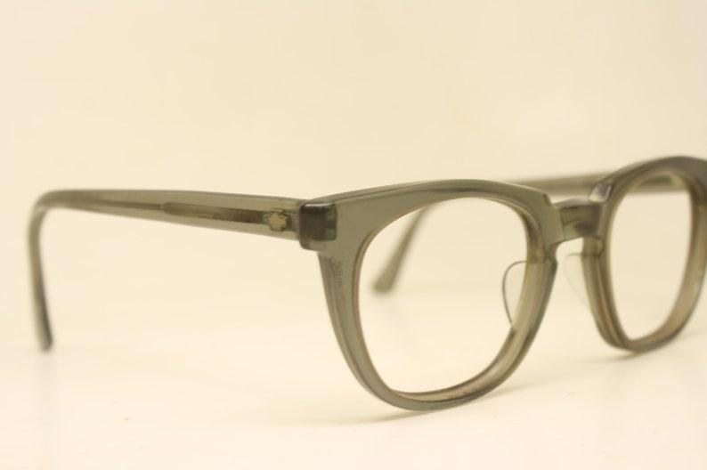 Retro Glasses Vintage Eyeglass Frames Fade Titmus Z87 Safety Glasses 1960's Depp Dean vintage eyewear Vintage Eyeglasses