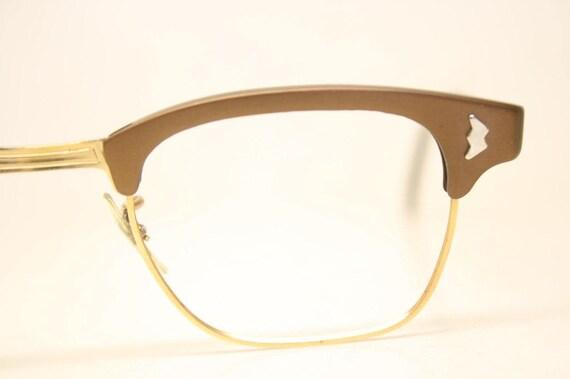 NOS Brown Browline Vintage Eyeglasses 1960s Men Retro Glasses | Etsy