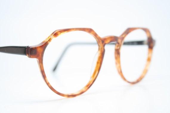efc502d2876 Vintage Eyeglass Frames Squire 37 Tortoise Retro Glasses P3