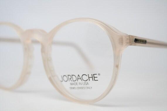 a5a03748f6 NOS Vintage Zyloware Jordache Sand P3 Eyeglass Frames Retro Eye Glasses