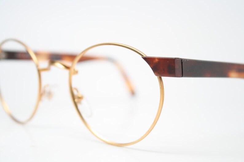 e0c61883bd Vintage Glasses Frames Gold Tortoise Retro 1980 s vintage