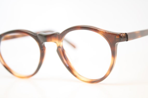 84bdebcd6b Vintage Eye Glasses Tortoise P3 Eyeglasses Retro 1980 s