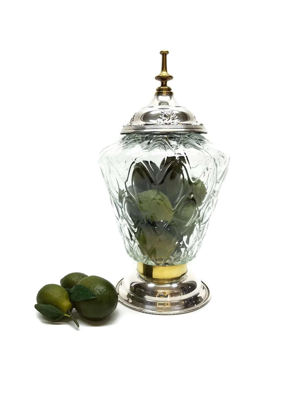 Wishing Well Wedding Guest Book Apothecary Terrarium Cookie Jar
