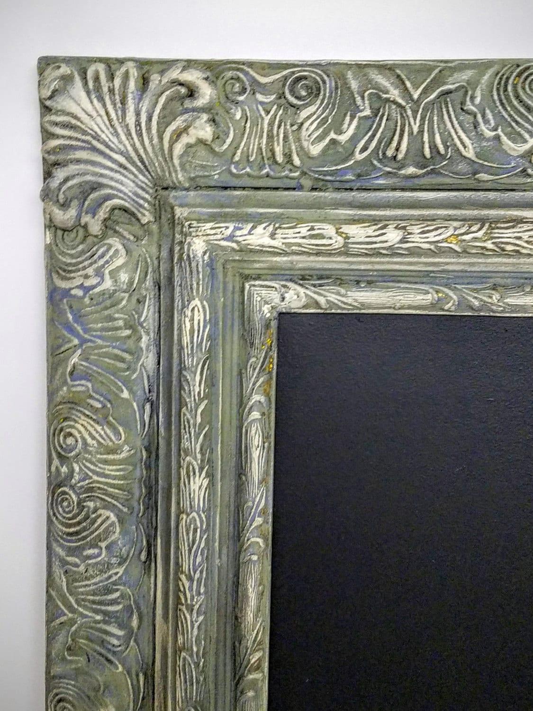 Extra Large Chalkboard Ornate Wood Frame Custom - Chic Wedding Frame ...