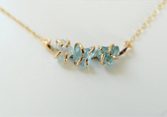 Rose Quartz Necklace Crystal Gold Necklace Birthstone Necklace Ruby Necklace Turquoise Necklace Diamond Necklace Aquamarine Necklace