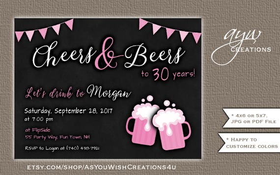 50th Birthday Party Invitation For The Woman Who Is Fifty And