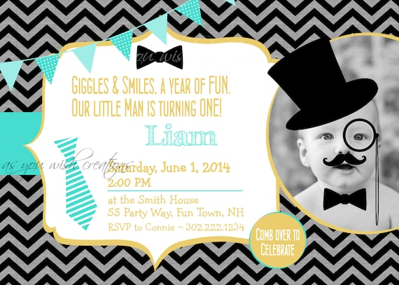 Little man birthday party invitation printable little man 1st little man birthday party invitation printable little man 1st birthday invites printable mustache first birthday party filmwisefo