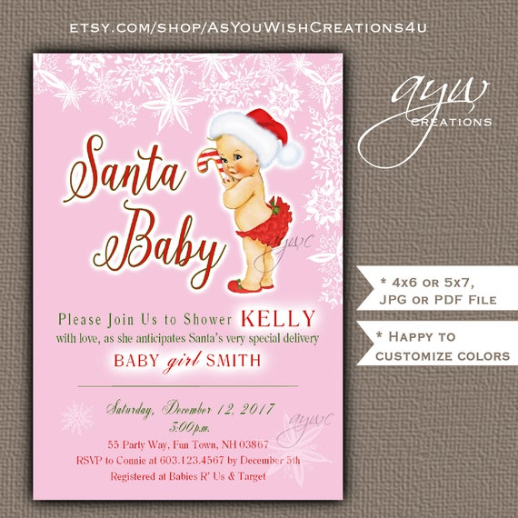 image 0 - Christmas Themed Baby Shower