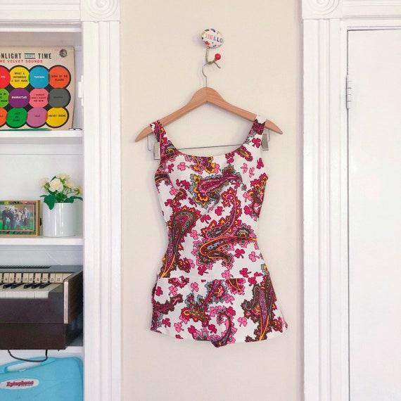 50s 60s Designer Rose Marie Reid Swimsuit