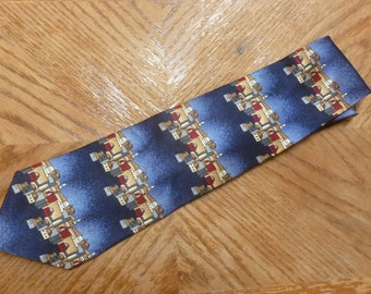 2f5a1c56e3ab vintage Stonehenge necktie Architecture Eastern Europe