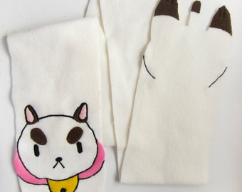PuppyCat Scarf from Bee and PuppyCat! Cosplay or Everyday!
