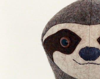Stuffed animal pattern, toy sewing pattern - soft toy pattern- pdf pattern - sewing projects