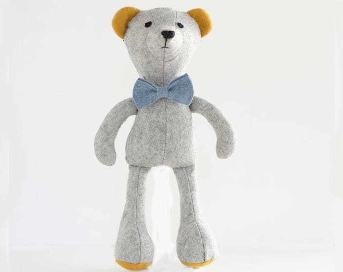 Teddy bear pattern, sew your own soft toy Bear - instant download pdf pattern - sewing projects