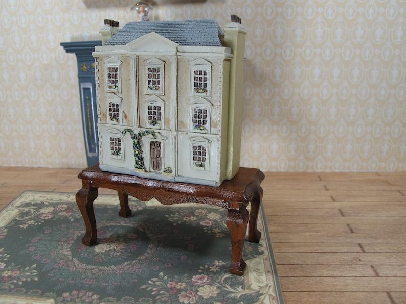 Dollhouse Miniature doll house for dolls inside house  Vintage doll toy  house for dolls  Miniature toy for doll houses  Christmas doll toy