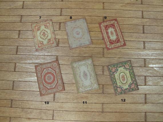 Basil #1 1:48 Quarter Scale Miniature Rug