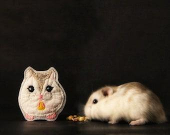 Pet Portrait Patch Personalized Custom Gift. Guinea Pig Bunny Hamster Rat Ferret Chinchilla Rabbit