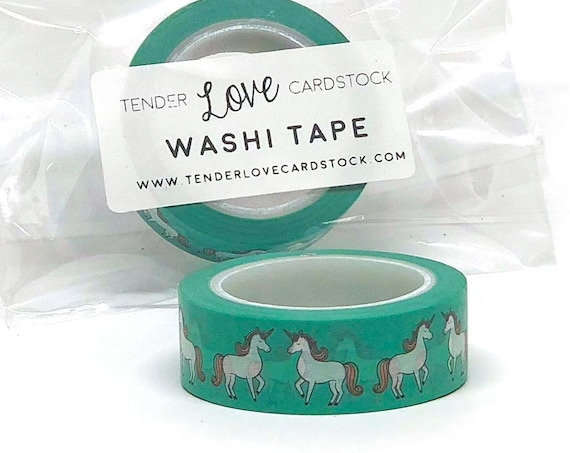 Unicorn Washi Tape - 10 Meters