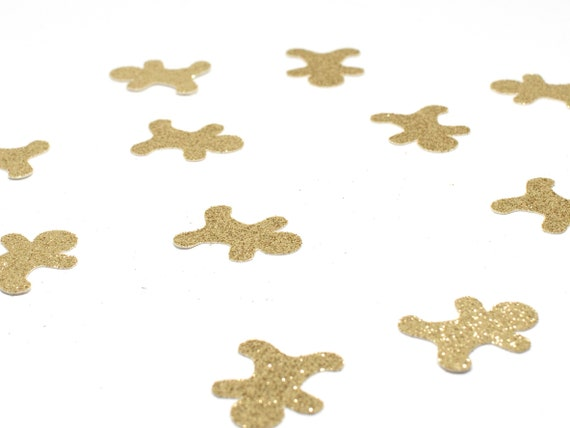 Gingerbread Man Confetti