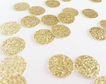 "Gold Glitter Circle Confetti - 1/2"" Gold Confetti. Wedding Confetti. Bachelorette. Bridal Shower. Engagement Party. Baby Shower. Birthday."